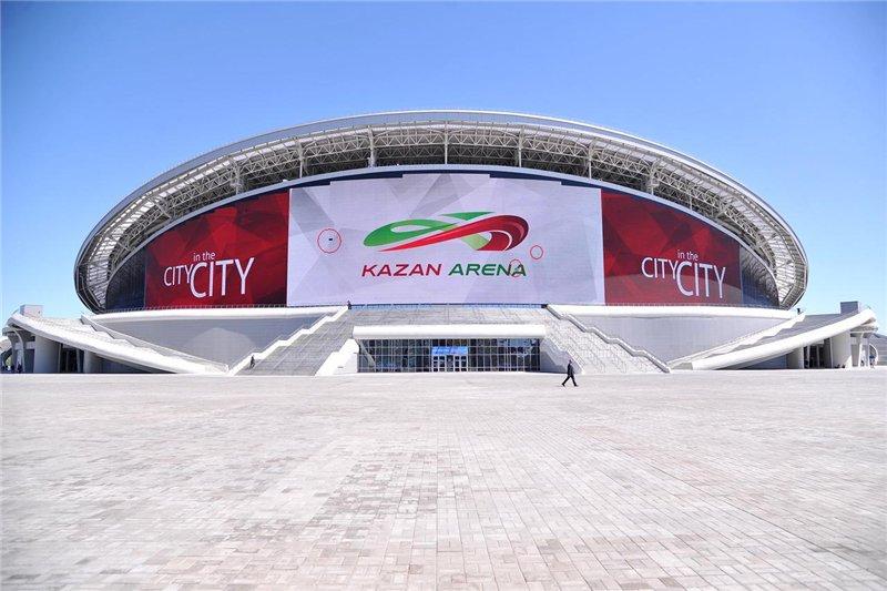 Стадион казань арена схема