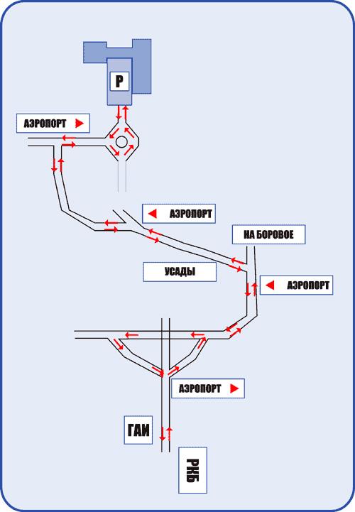в Казани. Схема проезда.