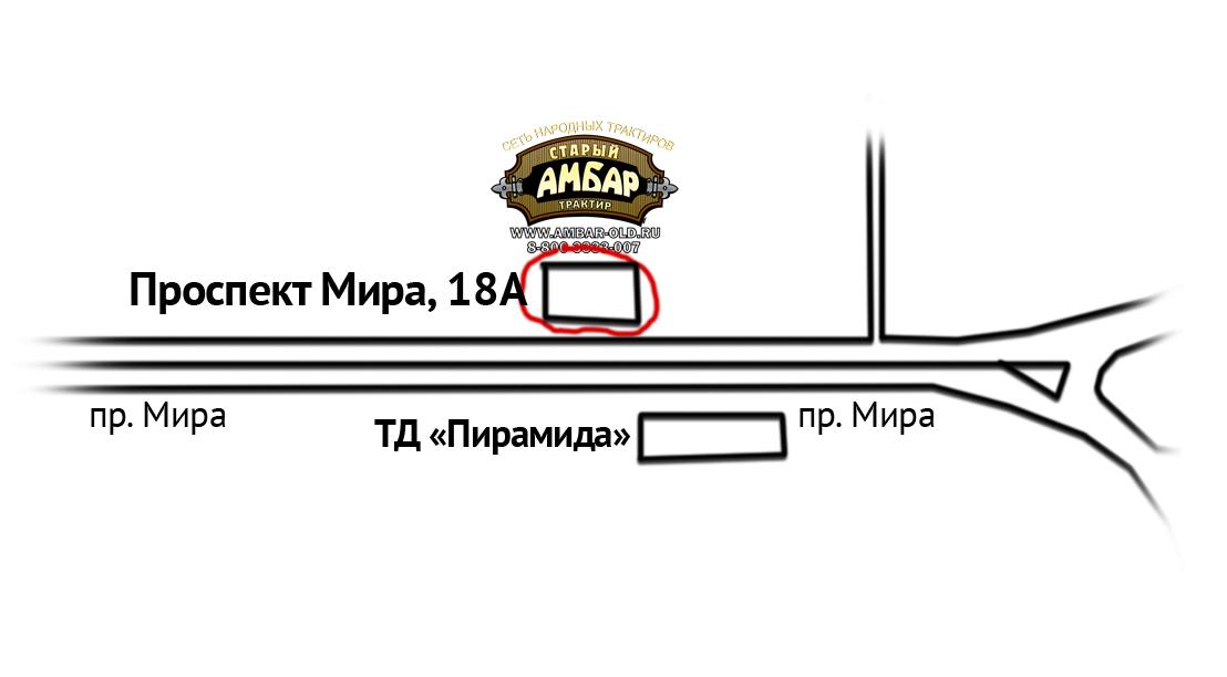 Нижнекамск. Схема проезда.