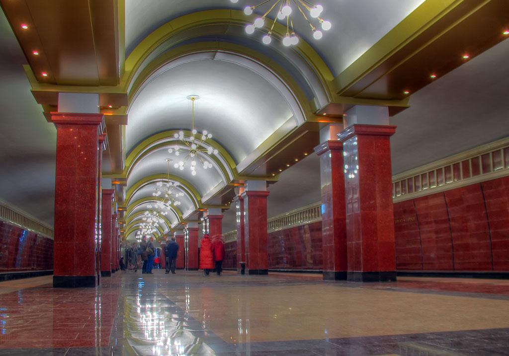 метро фото казань