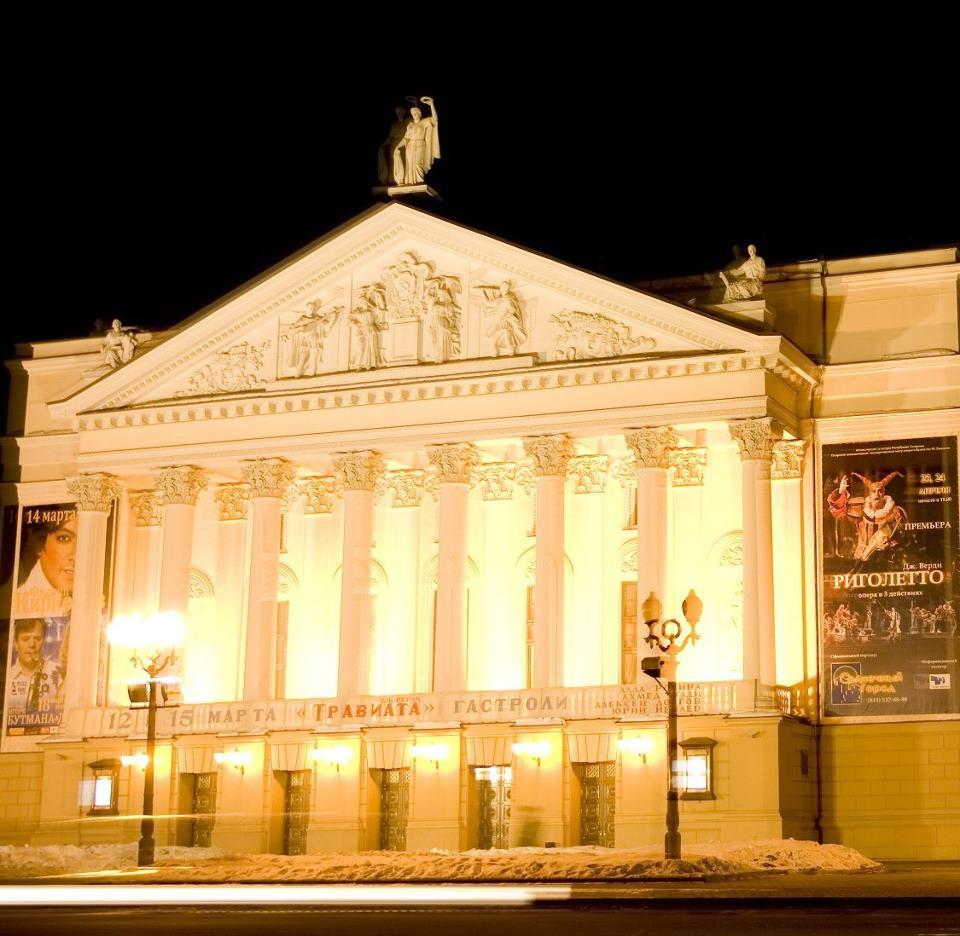 схема проезда до театра оперы и балета